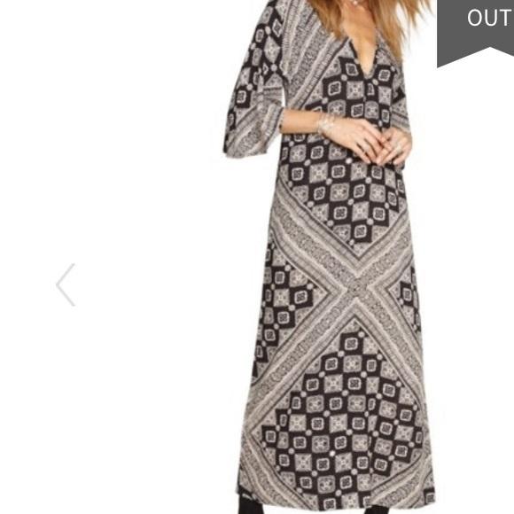 Amuse Society printed tunic dress
